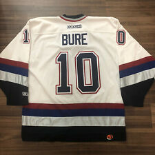 CCM Vancouver Canucks Pavel Bure NHL Hockey Jersey Vintage White Home Large L