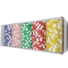 100 Pokerchips im Tray Box Metallkern selbst sortieren 1 - 50000 f Pokerkoffer