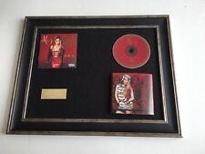 SIGNED/AUTOGRAPHED JENNIFER LOPEZ - A.K.A FRAMED CD PRESENTATION. J LO