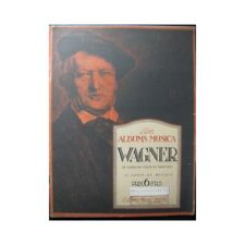 Wagner Richard Album Musica Gesang Piano Noten Sheet Music Score