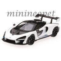 MINI GT MGT00019 McLAREN SENNA 1/64 DIECAST MODEL CAR HONG KONG EXCLUSIVE WHITE