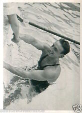 Ferenc Csik Hungary Swimming 100 m freestyle OLYMPIC GAMES SUMMER 1936 CARD