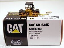 Caterpillar CB634C Roller - 1/87 - Brass - CCM - MIB