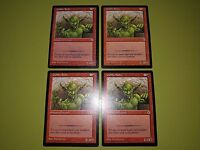Goblin Bully x4 - Portal - Magic the Gathering MTG 4x Playset