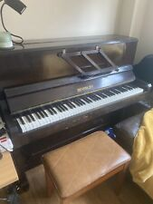 More details for small upright piano with stool 85 keys beverley