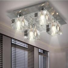 Decken Beleuchtung Wohn Schlaf Zimmer Leuchte Glas Kristall Würfel Lampe NEU OVP