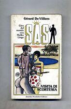 Gérard De Villiers # SAS: VISITA DI SCORTESIA # Mondadori 1986 1A ED.