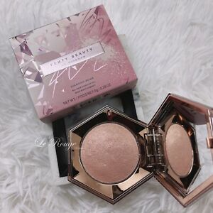 Fenty Beauty Rose Rave Pink Diamond Bomb All Over Diamond Veil highlighter New