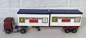 Matchbox Lesney Super Kings K-17 Trailer Scammell Container Truck