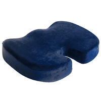 Pain Relief Memory Foam Seat Chair Cushion Tailbone Pillow Sciatica Coccyx OL10