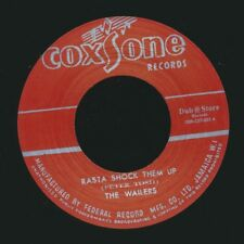 "NEW 7"" Wailers, The - Rasta Shock Them Up  /  Soul Brothers - Ringo's Ska"
