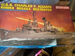 CHARLES F ADAMS CLASS DDG 1/700 SCALE. HMAS PERTH CLASS NEW SEALED PARTS