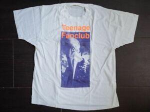 teenage fanclub  t shirt white size XL