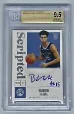 2019-20 Encased Brandon Clarke BGS 9.5/10 Auto Gem Mint Memphis Grizzlies RC /99