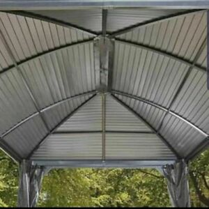Sojag Messina 10ft x 14ft (3.05 x 4.26m) Galvanised Steel Roof + Insect Netting