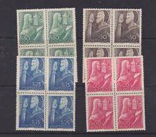 portugal 1948 Sc 689/92,block of four MNH,set      q174