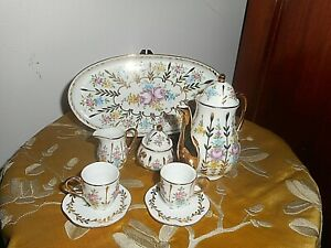 Miniature porcelain coffee set Antique?