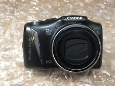 Canon PowerShot SX130 IS 12.1MP Digital Camera Black TESTED with SD Card