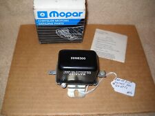 NOS Mopar 1960-1969 Dodge Chrysler Plymouth Voltage Regulator w/Part # Mint!