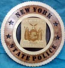NEW YORK STATE POLICE PLAQUE