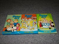 FAMILY GUY Volume Two,Three,Four 2,3,4 DVD TV Show Seasons Box Set Lot 9 Discs