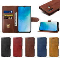 For Vivo Y19 Slim Magnetic PU Leather Stand Card Wallet Flip Case Cover Shell