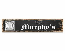 SP0664 The MURPHY'S Family name Sign Bar Store Shop Cafe Home Chic Decor Gift