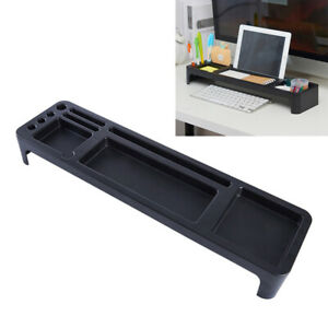 1 pc Keyboard Organizer Tabletop Plastic Sorting Rack for Office Home
