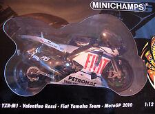 Minichamps 1:12 ~ YZR-M1 2010 ~ Yamaha MotoGP Valentino Rossi ~ 122 103046 ~ Nuevo