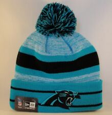 96fd655ea6a Carolina Panthers NFL New Era Cuffed Knit Pom Hat