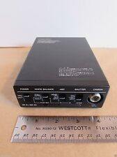 Elmo CCD Camera Control Unit 100999 White Balance Shutter Japan 12VDC