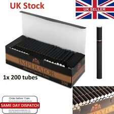 King Size CARTEL IMPERATOR BLACK TUBES Empty cigarette SAVE tobacco & Rizla UK