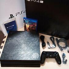 PS4 Playstation 4 Pro Kingdom Hearts Ⅲ Limited Edition CUHJ-10025 Used