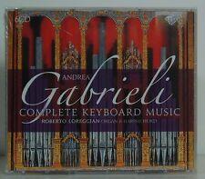 6cd Gabrieli Complete Keyboard Music Roberto Loreggian Brilliant 2015 NUOVO & OVP