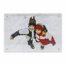 Blank Acrylic Magnetic Photo Frame Block - Various Sizes to Choose From