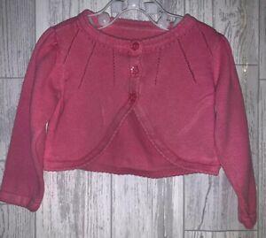 Girls Age 6-9 Months - Pink Cardigan