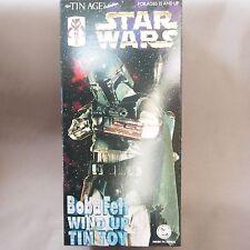 Star Wars Boba Fett Rare Tin Toy Figure Billiken Made in Japan 1997 Free Shippin