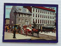 Printed Postcard Canada Quebec Montreal - Place Jacques-Cartier - Posted 1986