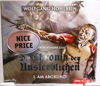 Wolfgang Hohlbein + Die Chronik der Unsterblichen + Hörbuch 4 CD + Am Abgrund +