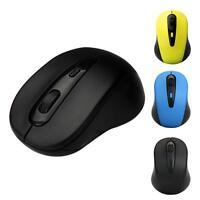 2400dpi 2.4GHz Kabellos Mäuse Optische Maus drahtlos USB Empfänger für PC Laptop