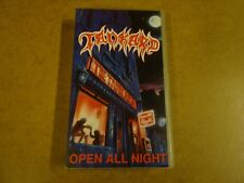 VHS VIDEO CASSETTE / TANKARD - OPEN ALL NIGHT