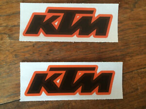 KTM Reflective Motorcycle Stickers
