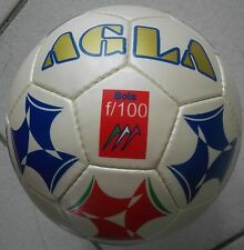 Stock 5 Palloni Calcio a 5 AGLA Bola K F/100 Bianco/Blu