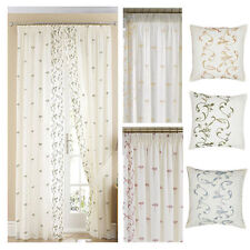 Ready Made Voile Floral Curtains