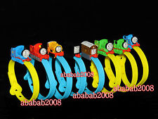 Bandai Thomas & Friends figure Rail Wrist Bracelet gashapon (full set 8 pcs)