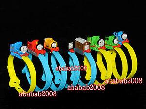 Bandai Thomas & Friends figure Rail Wrist Bracelet gashapon (full set 8 pcs)