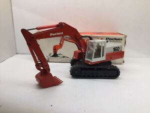 Conrad 2897  POCLAIN 160 Hydraulic Excavator Requires Some Repairs 1:50 Scale