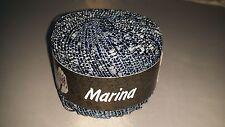 950g Lana Grossa Marina Garn Wolle grau 011 + Strickmagazin Filati