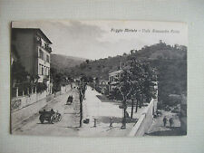 cartolina fp POGGIO MIRTETO anni '20 Viale Alessandro Fortis