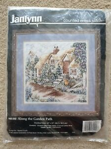 Along the Garden Path - Counted Cross Stich Kit 12'' x 12'' by Janlynn (80-292)